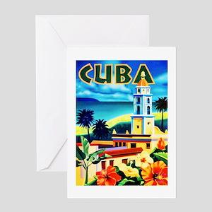 Cuba Travel Poster 6 Greeting Card