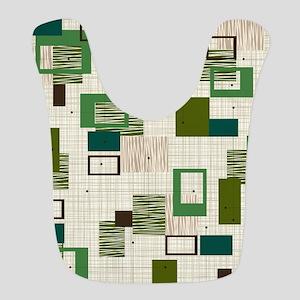 Makanahele Mid Century Modern Polyester Baby Bib