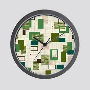 Makanahele Mid Century Modern Wall Clock
