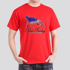 Red Friday Support Dark T-Shirt
