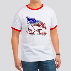 Red Friday Support Ringer T