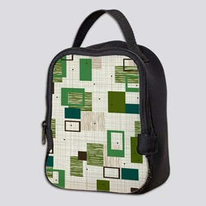 Makanahele Mid Century Modern Neoprene Lunch Bag