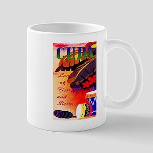 Cuba Travel Poster 3 Mug