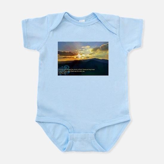 Psalms 56:4 Infant Bodysuit