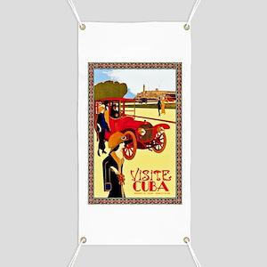 Cuba Travel Poster 10 Banner