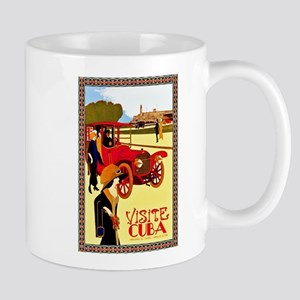 Cuba Travel Poster 10 Mug