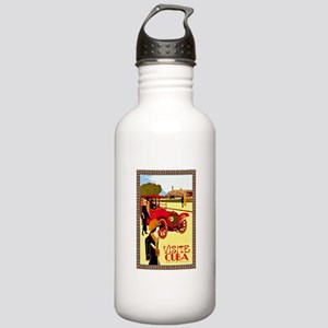 Cuba Travel Poster 10 Stainless Water Bottle 1.0L