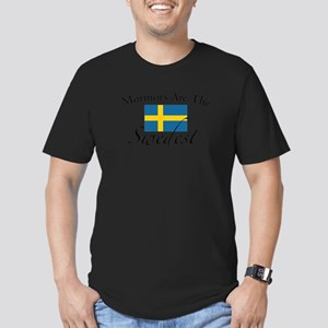 Mormors are the Swedest Men's Fitted T-Shirt (dark