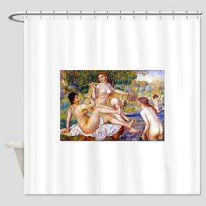 Renoir - The Bathers Shower Curtain