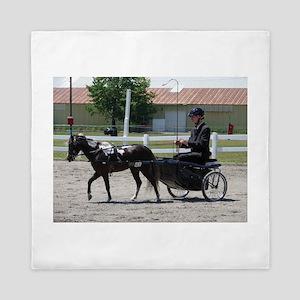 HORSE AND BUGGY™ Queen Duvet
