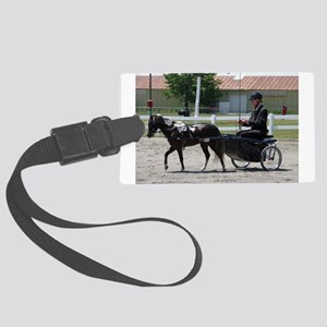 HORSE AND BUGGY™ Large Luggage Tag