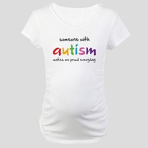 Proud Autism Maternity T-Shirt