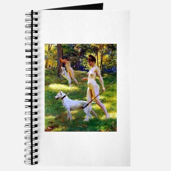 Nude Stewart Nymphs Hunting Journal