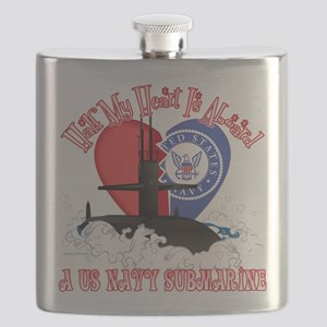 Half My Heart Flask