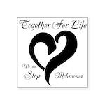 Stop Melanoma Square Sticker 3