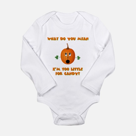pumpkin baby2 Body Suit