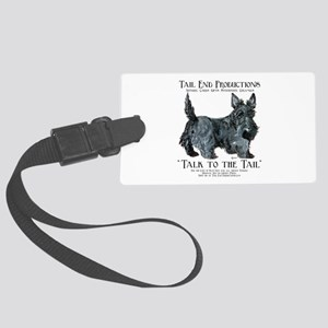 Scottie Logo Tail End Large Luggage Tag