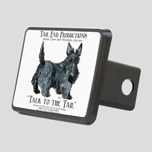 Scottie Logo Tail End Rectangular Hitch Cover
