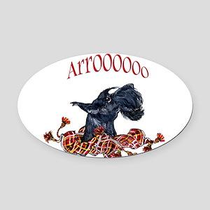 Arooo mug 14x6 Oval Car Magnet