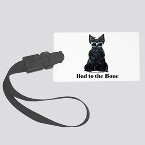 Scottie Bad to the Bone Large Luggage Tag