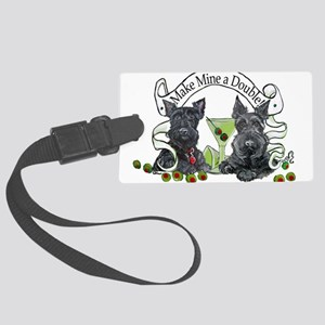 Double Make mine Large Luggage Tag