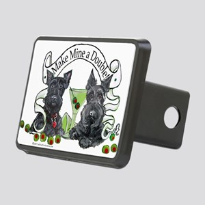 Double Make mine Rectangular Hitch Cover