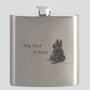 Best Friend 11x11 Flask