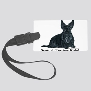 Scottish Terriers Rule 2006 Large Luggage Tag
