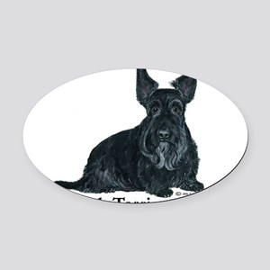 Scottish Terriers Rule 2006 Oval Car Magnet