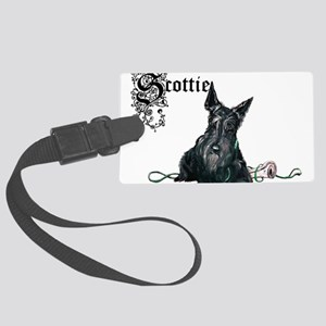 Scottie mug pair 12 2005 Large Luggage Tag