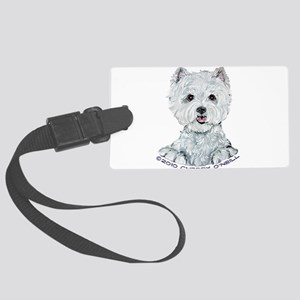 1 sharpened copy Large Luggage Tag