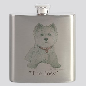 The Boss 6x6 Clear Flask