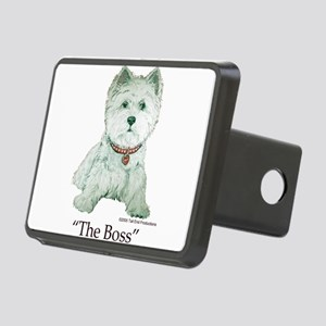 The Boss 6x6 Clear Rectangular Hitch Cover