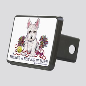 New kid in town 12x12 Rectangular Hitch Cover
