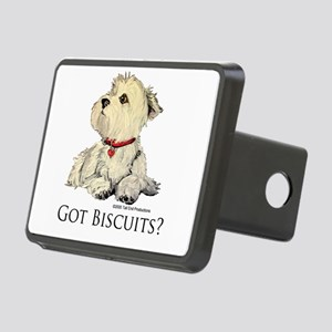 Biscuits6x6 2 Rectangular Hitch Cover