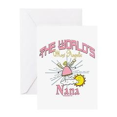 Angelic Nana Greeting Card