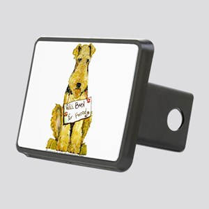 Airedale Lakeland Welsh Terrier Rectangular Hitch