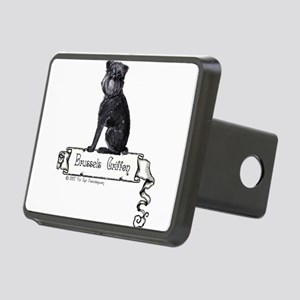 banner black griffie Rectangular Hitch Cover