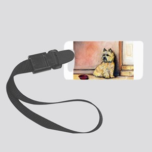 Cairn Terrier cards 5.5x7.5 Small Luggage Tag