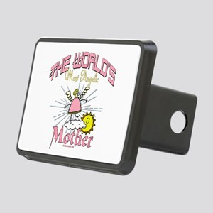 Angelic Mother Rectangular Hitch Cover