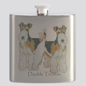 Double Trouble 11x11 Flask