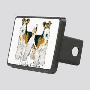 Double Trouble 11x11 Rectangular Hitch Cover