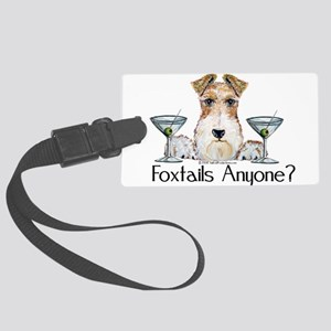 foxtails3 Large Luggage Tag