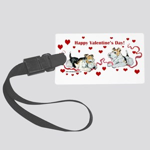 Valentines Day Large Luggage Tag