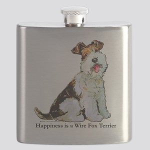 Happiness 8x8 Flask