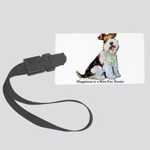 Happiness 8x8 Large Luggage Tag