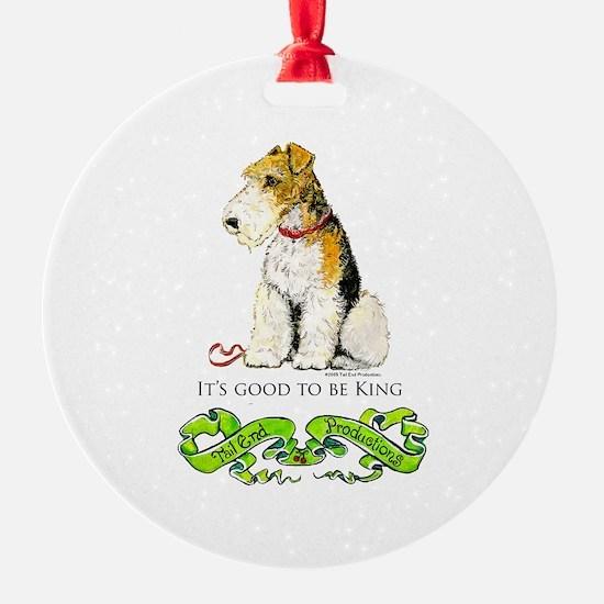 Fox Terrier Ornament