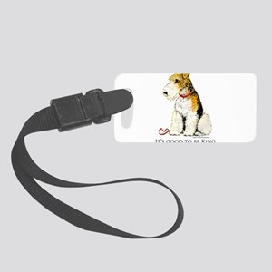 Fox Terrier Small Luggage Tag