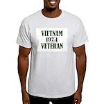 VIETNAM VETERAN 74 Light T-Shirt