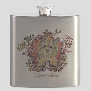 Norwich Terrier 2 script png Flask